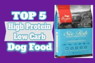 High Protein Low Carb Dog Food