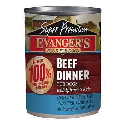 evangers-super-premium-wet-food-beef-dinner-for-dogs-with-spinach-kale