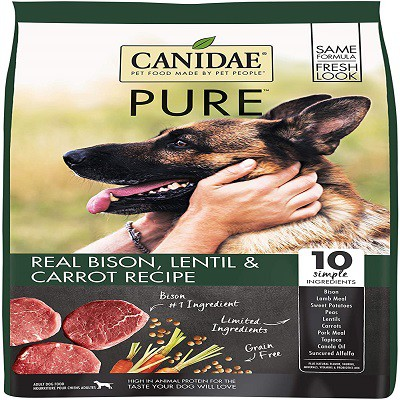canidae-pure-real-bison-grain-free-premium-dry-dog-food