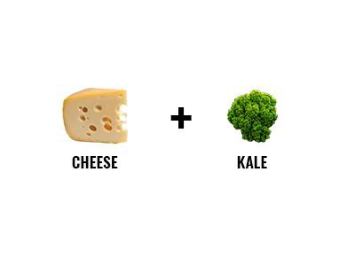 Cheese And Kale