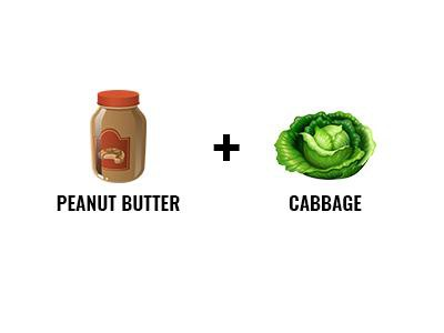 Peanut Butter And Cabbage